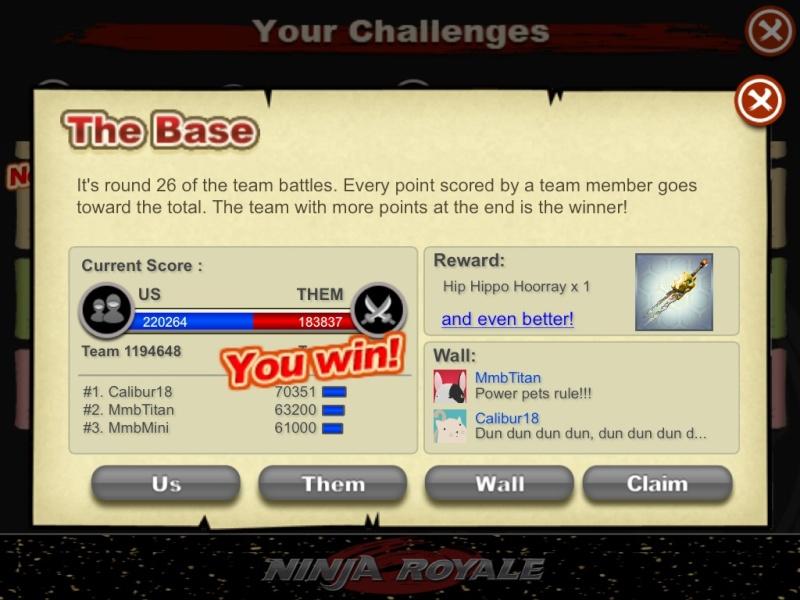 Epic Team Battle Screen Shot! Image112