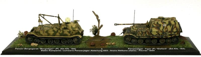 """[IXO] Bergetiger & Panzerjäger Tiger (P) """"Elefant"""" (Sd.Kfz. 184) (02) Sdkfz_18"""