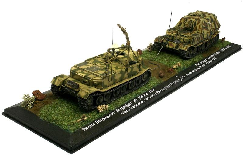 """[IXO] Bergetiger & Panzerjäger Tiger (P) """"Elefant"""" (Sd.Kfz. 184) (02) Sdkfz_19"""