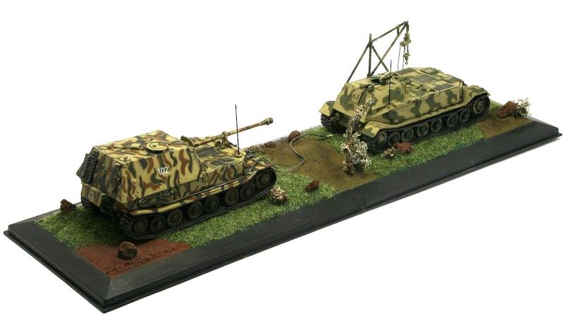 """[IXO] Bergetiger & Panzerjäger Tiger (P) """"Elefant"""" (Sd.Kfz. 184) (02) Sdkfz_22"""