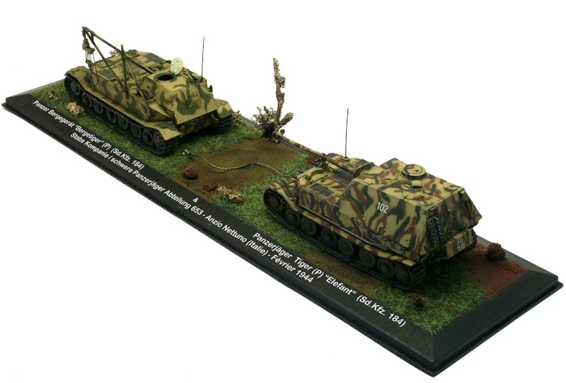 """[IXO] Bergetiger & Panzerjäger Tiger (P) """"Elefant"""" (Sd.Kfz. 184) (02) Sdkfz_23"""