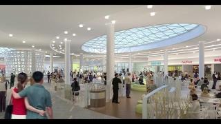 O Shopping Center do Litoral Alentejano e do Terminal Rodoviário em na cidade de Sines 42335110