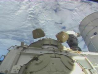 O vídeo em directo a partir da Estação Espacial Internacional E10