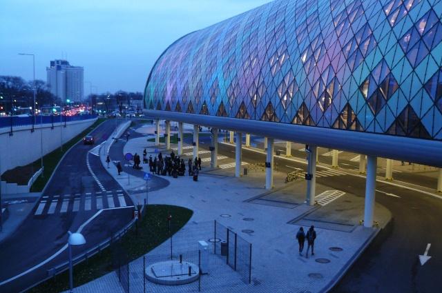 O Shopping Center do Litoral Alentejano e do Terminal Rodoviário em na cidade de Sines Poznan10