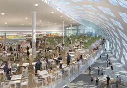 O Shopping Center do Litoral Alentejano e do Terminal Rodoviário em na cidade de Sines Poznan12