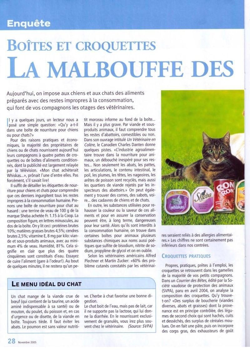 Quelles croquettes donnez-vous à vos chats ? - Page 2 Enquet11
