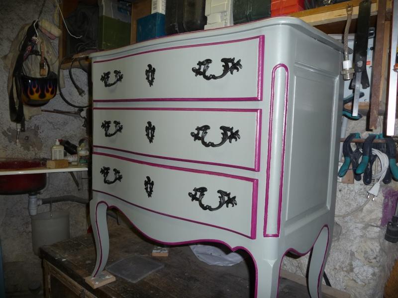 Conseils pour rénovation de 2 meubles en vrai bois d'arbres! P1040812