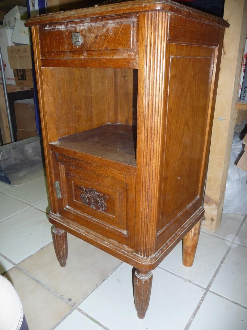 Conseils pour rénovation de 2 meubles en vrai bois d'arbres! Table_10