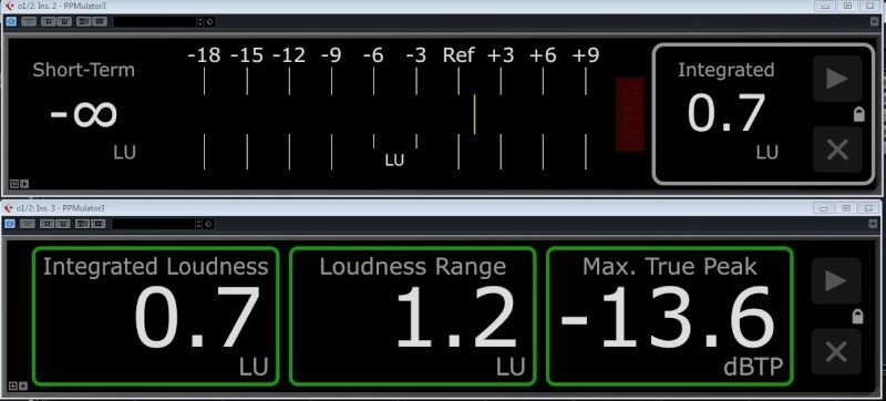 LU (Loudness Unit) meter, plug in ou hardware - Page 2 Ppm211