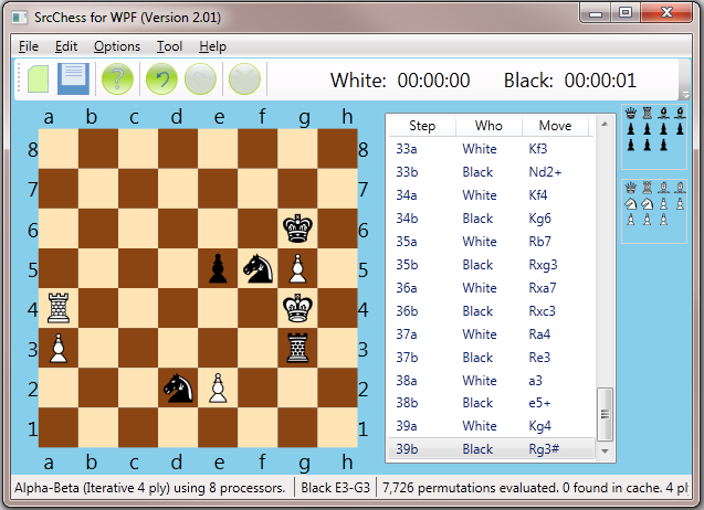 SrcChess in C++ Chessb10