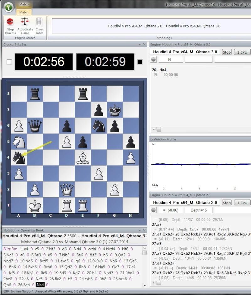 Mohamed Qhatane V2.0 vs Mohamed Qhatane V3.0 (Mohamed Nayeem) M2vsm310