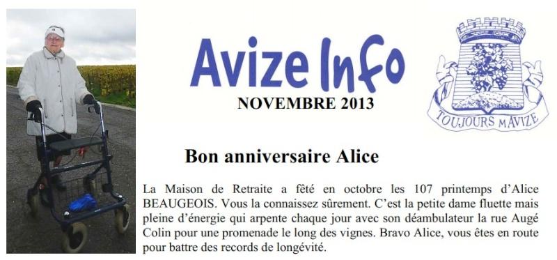 Preuves de vie récentes sur les personnes de 107 ans - Page 33 Alice_11