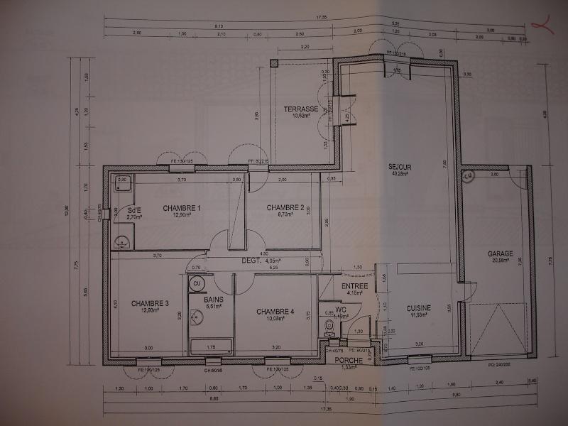 [ TECHNOLOGIE DU BATIMENT ] Dossier de Déclaration Permis de construire/Préalable. Dsc07210