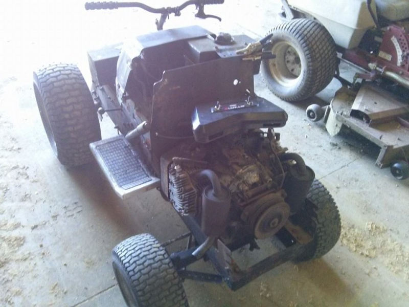 Craftsman GT Work Tractor Build 19597710