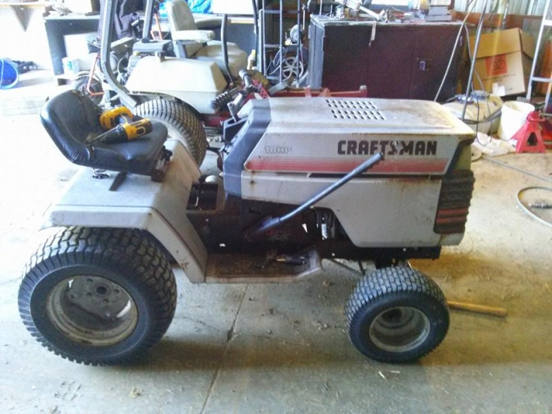Craftsman GT Work Tractor Build 19772610