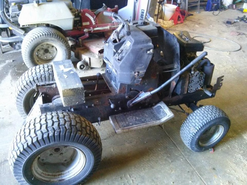 Craftsman GT Work Tractor Build 99836310