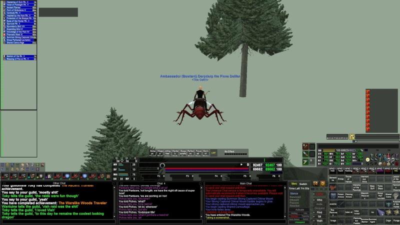 Wild & weird screenshots while logged in to EQ Eq000013