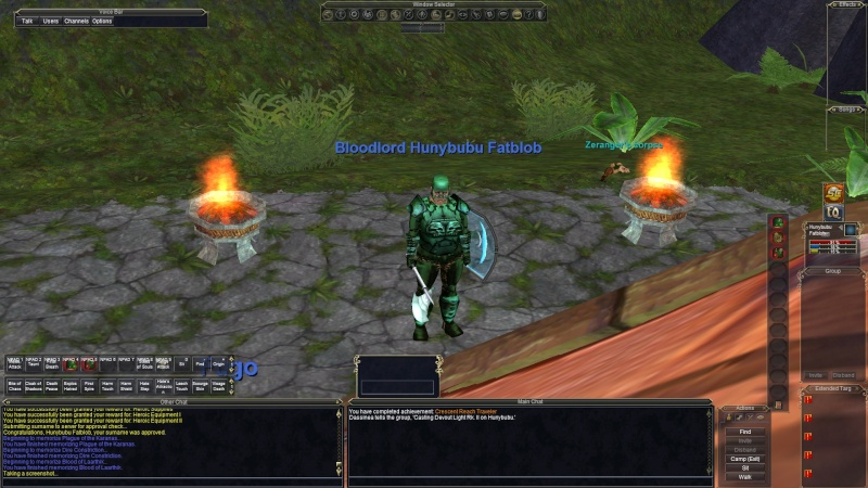 Wild & weird screenshots while logged in to EQ Eq000014