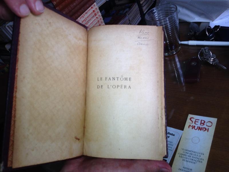 1st edition of Le Fantôme de l'Opéra Foto_111
