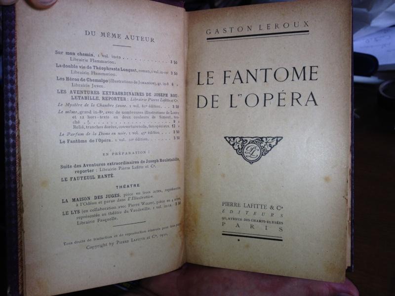 1st edition of Le Fantôme de l'Opéra Foto_210