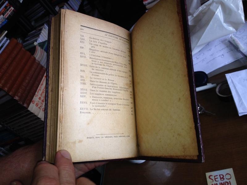 1st edition of Le Fantôme de l'Opéra Foto_310