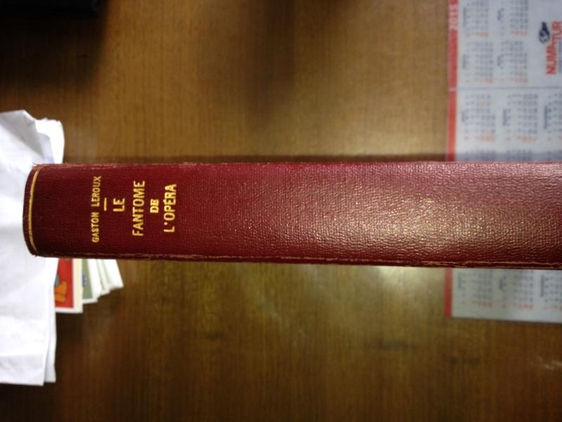 1st edition of Le Fantôme de l'Opéra Foto_510