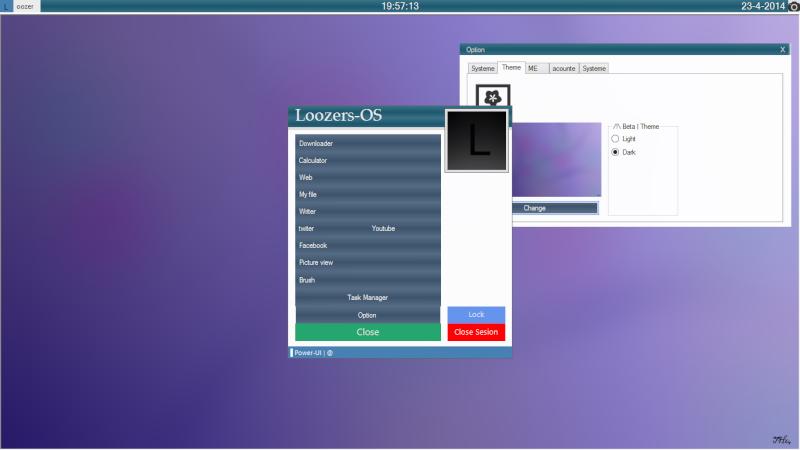 Loozer-OS EBB (Edtion Blue Basic) Un os développer sous SZ et VS - Page 3 Loozer21