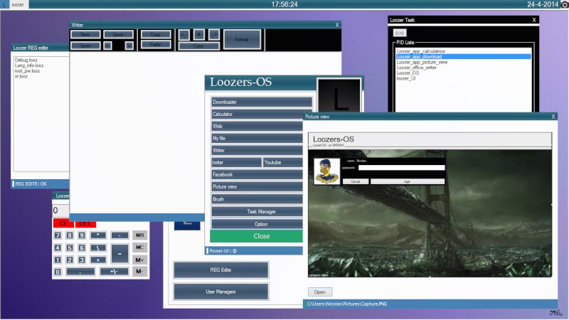 Loozer-OS EBB (Edtion Blue Basic) Un os développer sous SZ et VS - Page 5 Loozer27