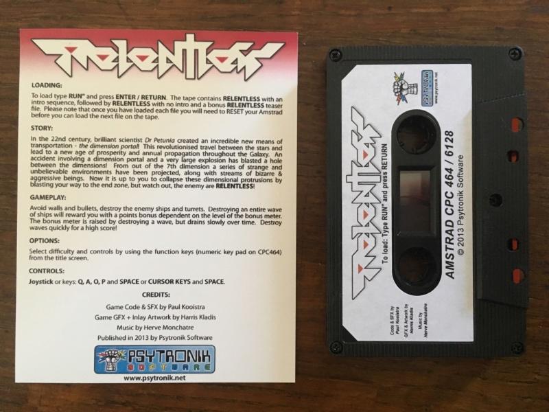 [VDS] Relentless version boite pour Amstrad CPC Img_7012
