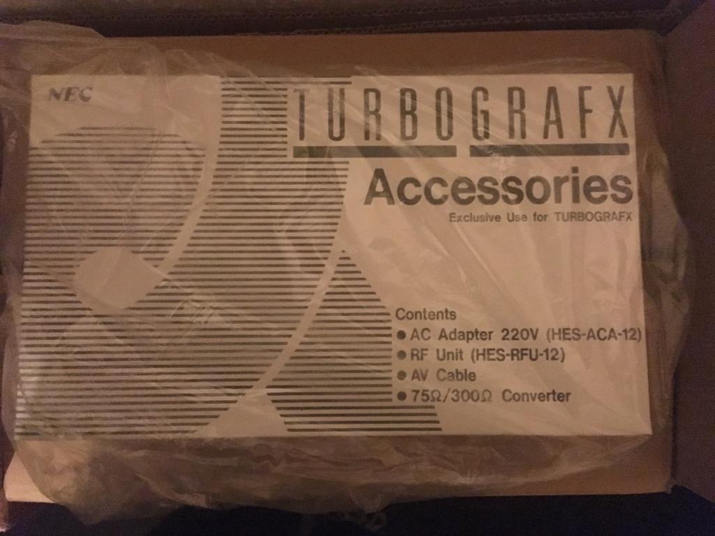 [ESTIM] NEUF / MINT : TurboGrafx + Accessoires Tg16-a10