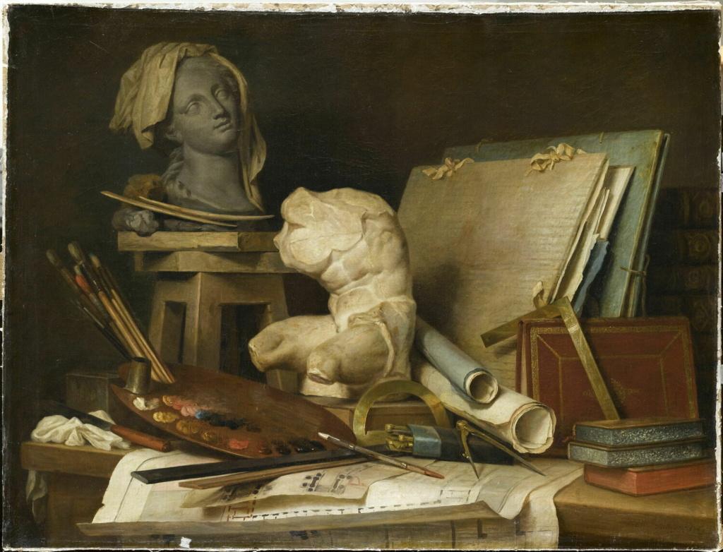 Anne Vallayer-Coster, chef du cabinet de peinture de Marie-Antoinette 00001310