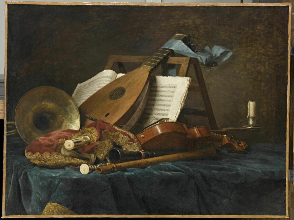 Anne Vallayer-Coster, chef du cabinet de peinture de Marie-Antoinette 00001311