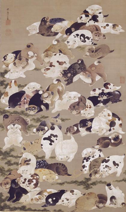 Exposition : Jakuchū (1716-1800), le Royaume coloré des êtres vivants 01_zoo10