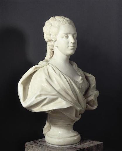 Buste de Mme Adélaïde, de Mme Clotilde, ou d'une inconnue (mais non pas de Marie-Antoinette) par Vavasseur ?  02-01411
