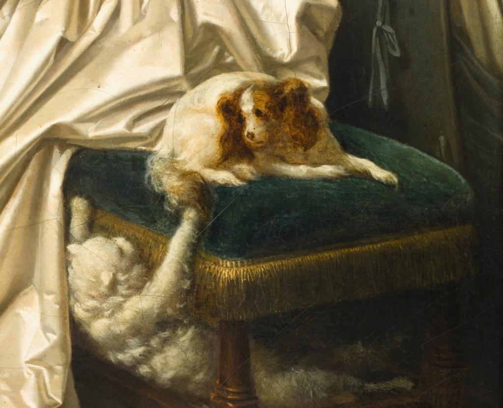 Gérard - L'artiste peintre Marguerite Gérard 021pf111