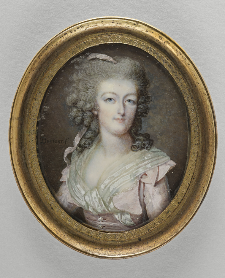 Dumont - Marie Antoinette, miniatures attribuées à ou d'après François Dumont 10458310