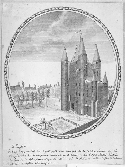 La famille royale à la prison du Temple : plans et aménagements - Page 7 11-55010