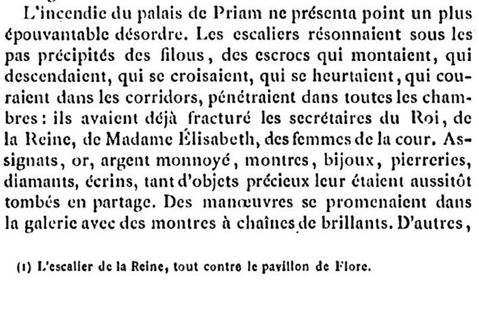 Ventes aux enchères des effets et mobiliers des Tuileries après les pillages du 10 août 1792 118