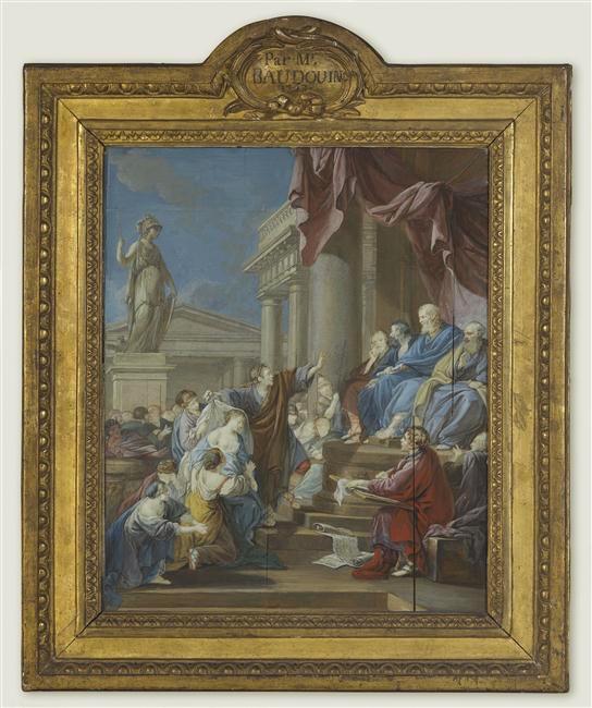 Pierre-Antoine Baudouin, dessinateur du libertinage au XVIIIe siècle 12-50710