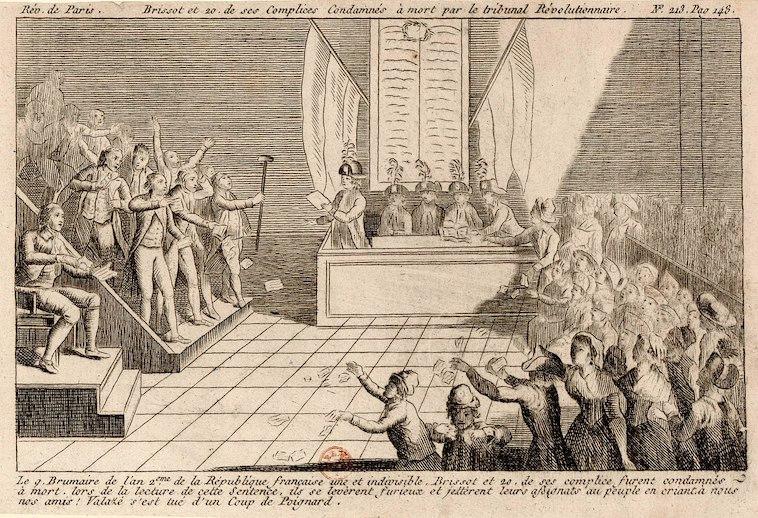 Le palais de Justice de L'île de la Cité, Paris, et la salle du Tribunal révolutionnaire 1280px28