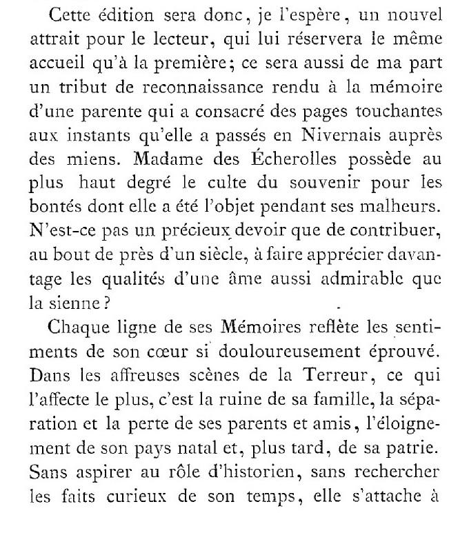 Une famille noble sous la Terreur,  (Mémoires) d'Alexandrine des Écherolles 129