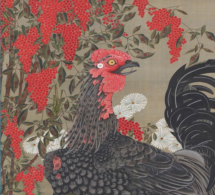 Exposition : Jakuchū (1716-1800), le Royaume coloré des êtres vivants 14_bla11