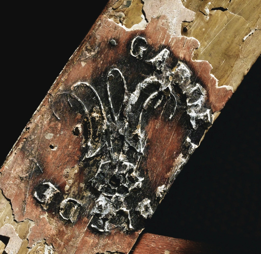 Marques du mobilier et sceau du Garde-Meuble de la reine Marie-Antoinette 152pf110