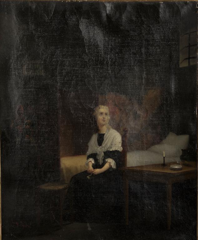 Portraits de Marie-Antoinette dans les prisons du Temple et de la Conciergerie - Page 3 15427812