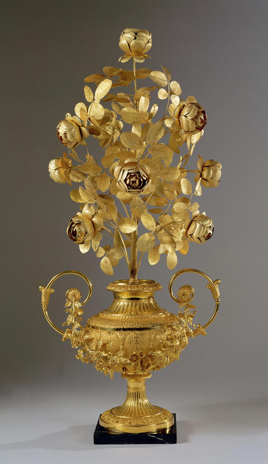 Les Roses d'or ou Roses bénites. L'exemplaire offert par le pape Clément XIV à la reine Marie-Caroline de Naples 15502_10