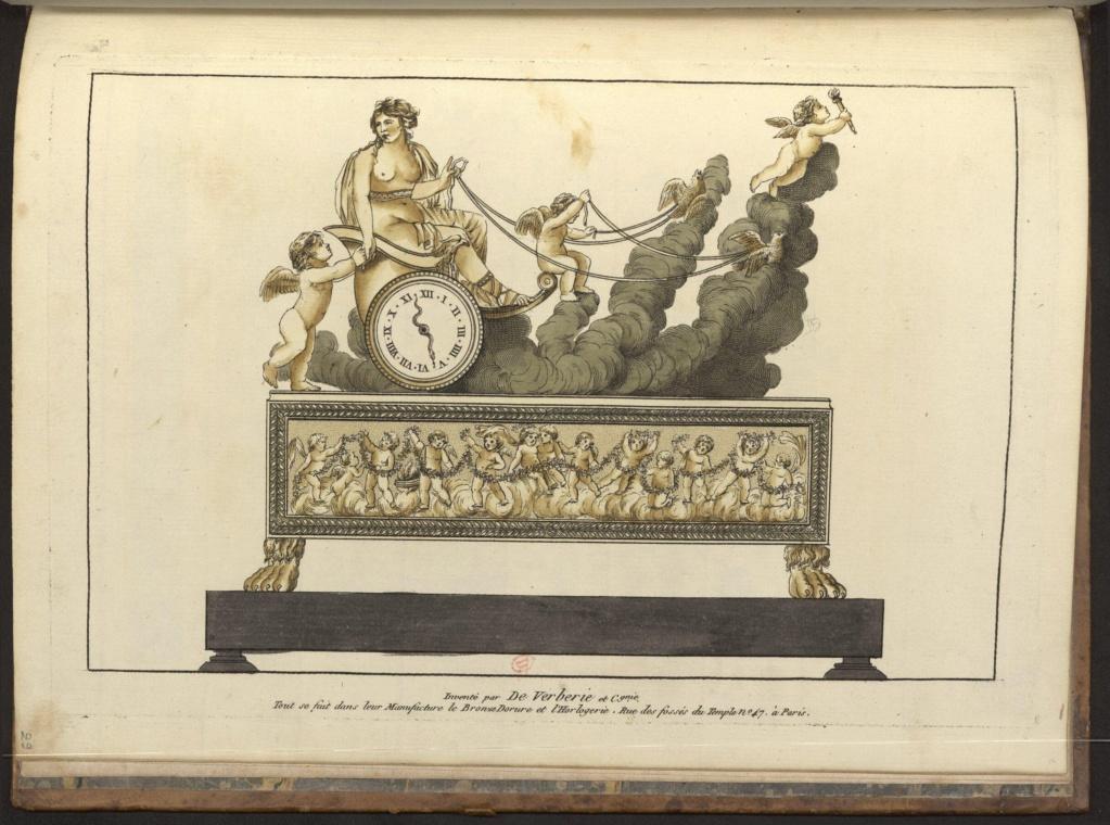 """Les pendules dites """"Au bon sauvage"""" et les créations de Jean-Simon Deverberie : L'Afrique et l'Amérique 15546510"""