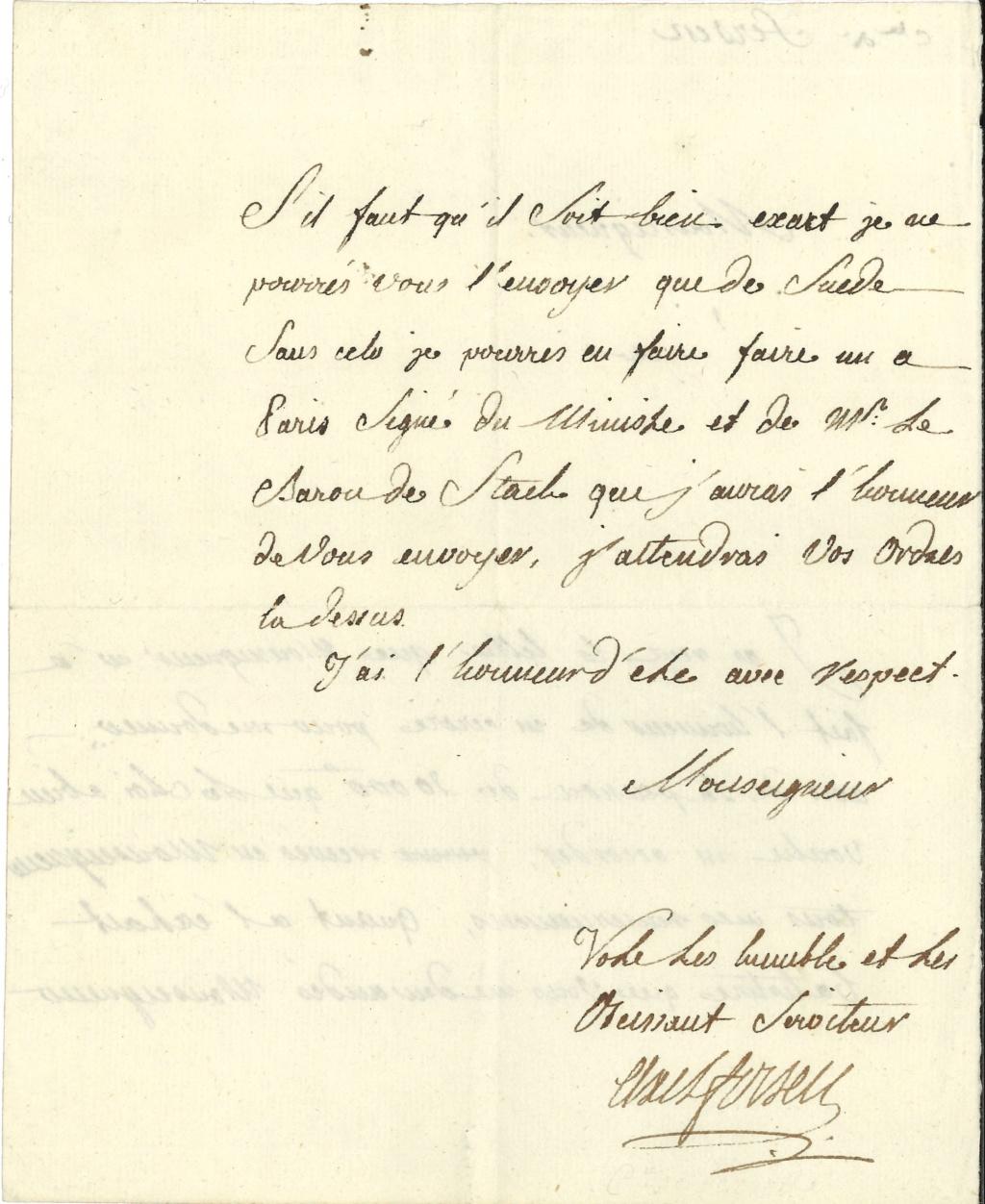 Lettres, mots, notes et extraits du journal d'Axel de Fersen - Page 2 15578411
