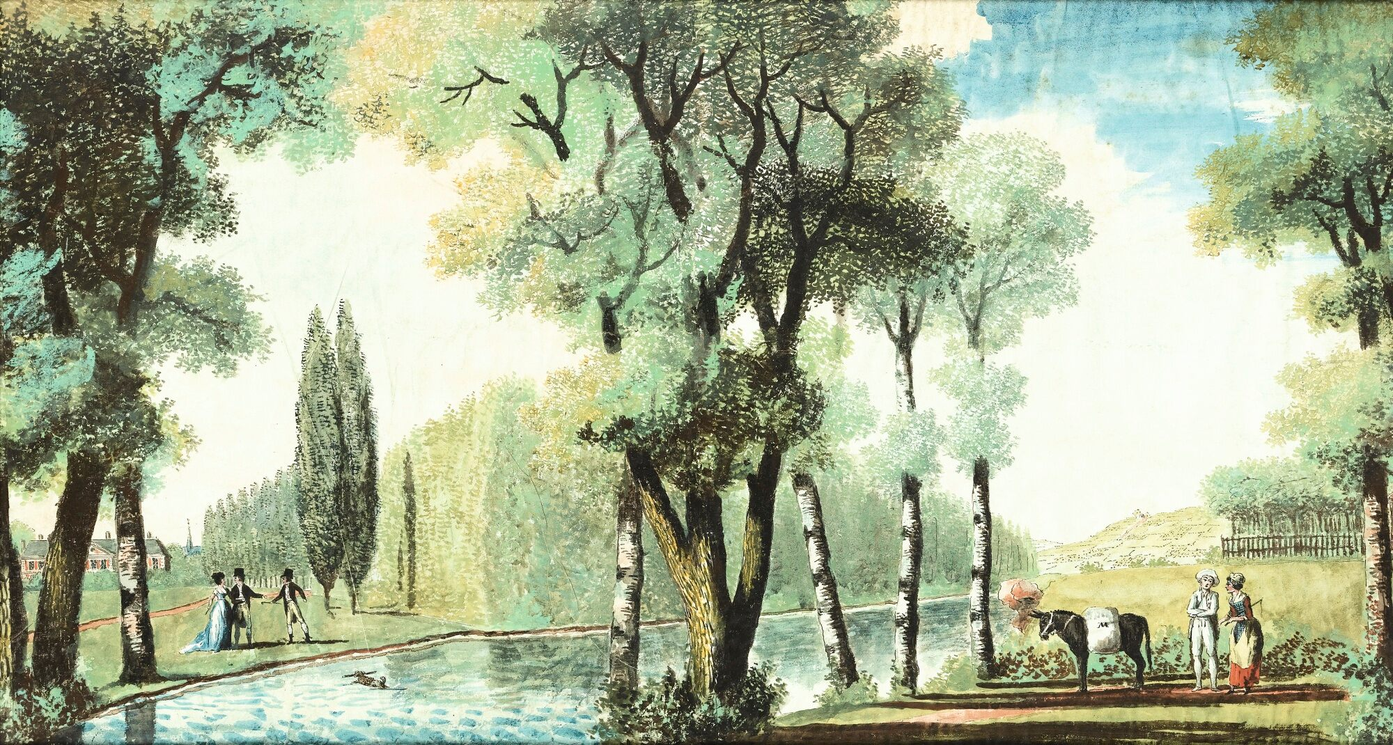 Louis Carrogis, dit Louis de Carmontelle ou Carmontelle 162pf110