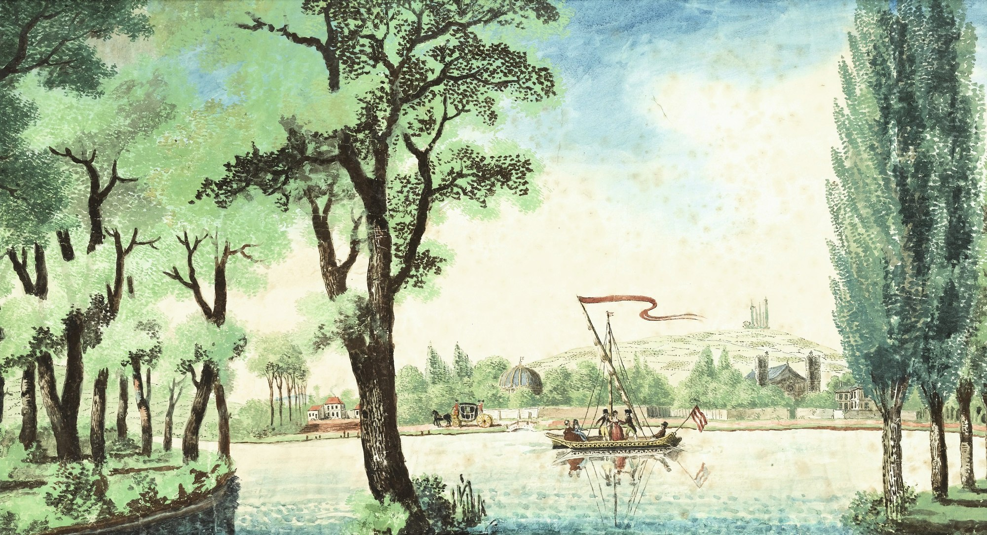 Louis Carrogis, dit Louis de Carmontelle ou Carmontelle 164pf110