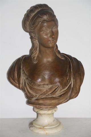 Sculpture : Les bustes de la princesse de Lamballe (présumée) 17265510